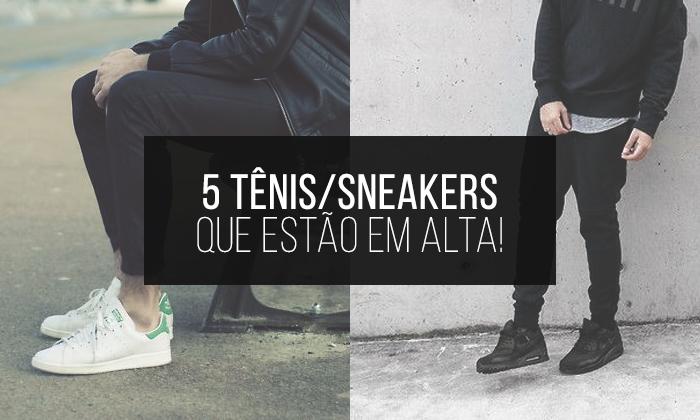 b75ba661dc4 5 Tênis Sneakers que estão em alta para o Vestuário Masculino