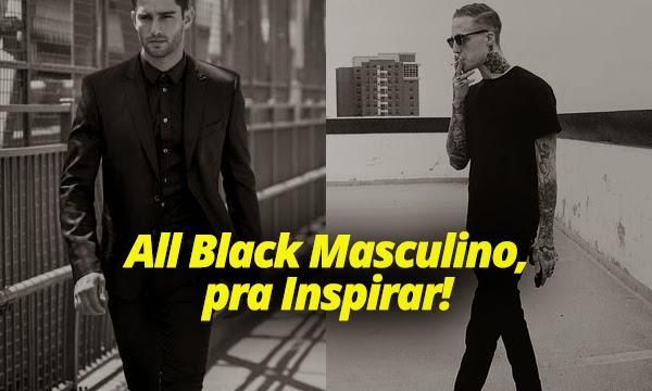 104e16c985 Look All Black Masculino