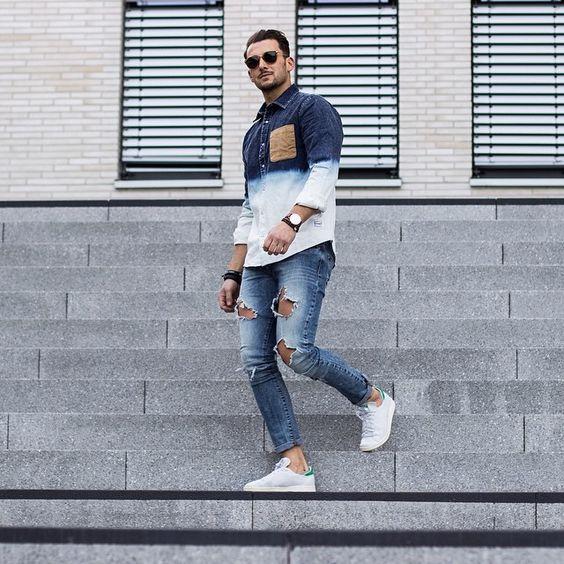 adidas stan smith looks